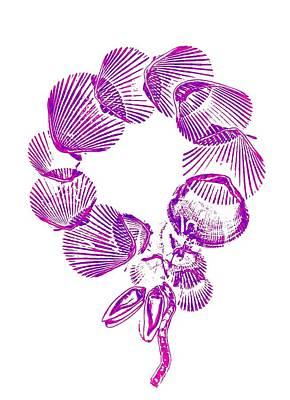Xerox Digital Art - Wreath by Sara Koenig King