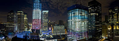 Photograph - Wtc Site Panorama 2 by Val Black Russian Tourchin