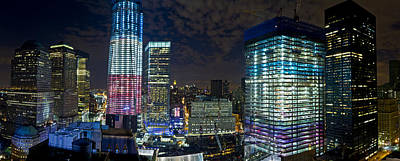 Photograph - Wtc Site Panorama 3 by Val Black Russian Tourchin