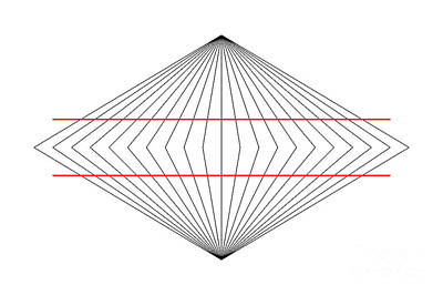 Illusory Photograph - Wundt Illusion by SPL and Photo Researchers