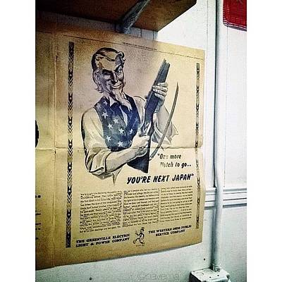 Ohio Photograph - Ww2 Vintage War Bonds Advertising by Natasha Marco