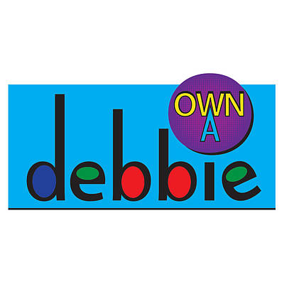 Digital Art - www.OwnADebbie.com by Deborah Boyd