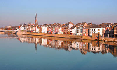 Meuse Photograph - Wyck In Maastricht by Nop Briex