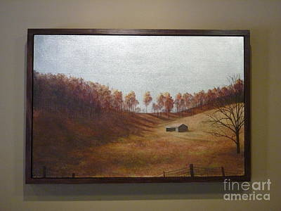 Gold Leaf Painting - Wyethesque by John Cmar