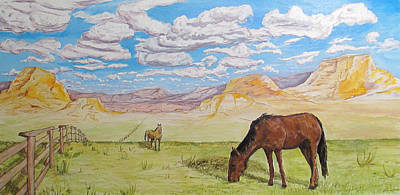 Painting - Wyoming by Andrew Hench