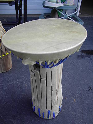 Xylophone Hand Drum Art Print by Hunter Quarterman