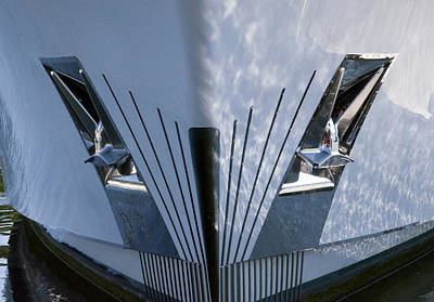 Photograph - Yacht Bow by Glenn Gordon