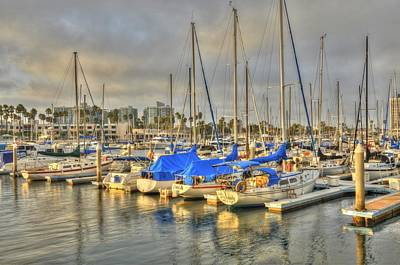 Photograph - Yachts On A Lazy Afternoon by Richard Omura