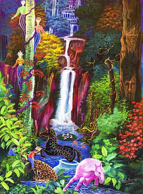 Yacu Caballo  Art Print