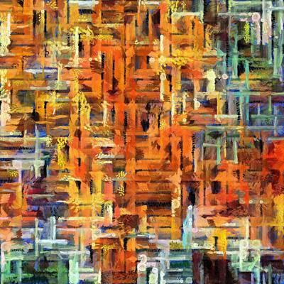 Struggling Digital Art - Yada Yada Yada by Angelina Vick