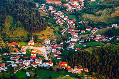Yagodina Village Art Print by Evgeni Dinev