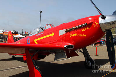Photograph - Yak 9u Airplane . 7d15795 by Wingsdomain Art and Photography