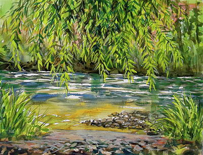 Painting - Yakima River by Lynne Haines