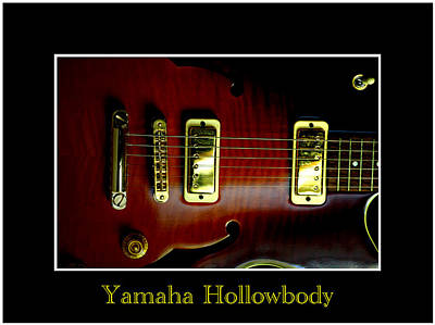 Photograph - Yamaha Hollowbody 4 by David Weeks