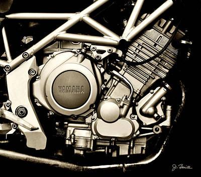 Photograph - Yamaha by Joe Bonita