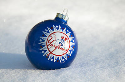 Photograph - Yankees Ornament by Glenn Gordon