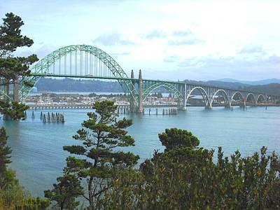 Yaquina Bay Bridge Newport Art Print