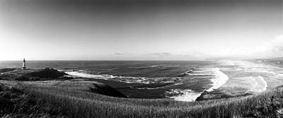 Agate Beach Photograph - Yaquina Head Light by Jan W Faul