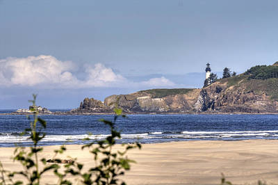 Photograph - Yaquina Head Lighthouse by Chris Anderson