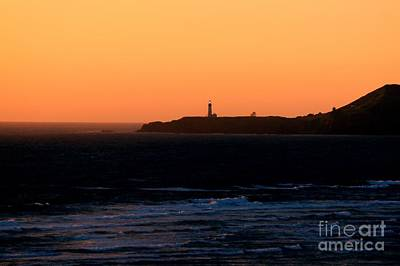 Photograph - Yaquina Head Sunset by Erica Hanel