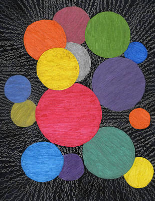 Drawing - Yarn II by Lesa Weller