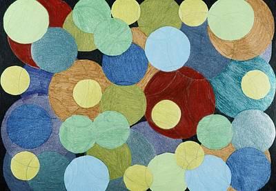 Drawing - Yarn by Lesa Weller