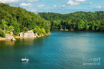 Photograph - Yatesville Lake by Lena Auxier