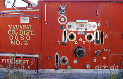Photograph - Yavapai County District 0680 Engine No 2 by Heather Kirk