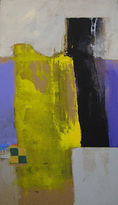 Painting - Yellow And Black by Cliff Spohn