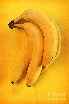 Banana Mixed Media - Yellow by Andreas Berheide