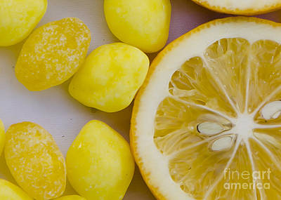 Photograph - Yellow As A Lemon by Jim And Emily Bush