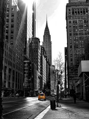 Photograph - Yellow Cab by Bennie Reynolds
