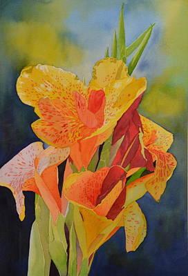 Yellow Canna Art Print by Cynthia Sexton