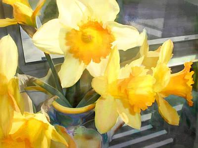 Yellow Daffodils Art Print