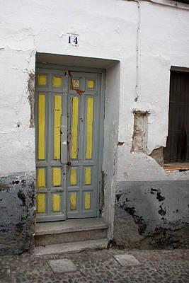 Photograph - Yellow Door At Number 14 by Lorraine Devon Wilke
