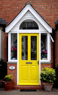 Yellow Door Photograph - Yellow Door by Roberto Alamino