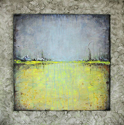 Art Print featuring the painting Yellow Field by Lolita Bronzini