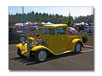 Photograph - Yellow Ford by Chris Anderson
