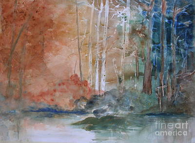 Painting - Yellow Medicine Creek 3 by Julie Lueders