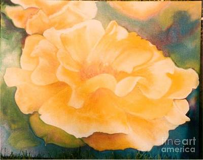 Painting - Yellow Rose Of Texas by Geri Jones