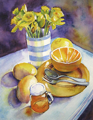 Yellow Still Life Art Print