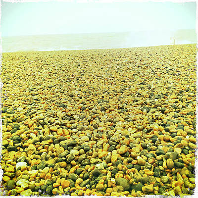 Photograph - Yellow Stones At Brighton by Betse Ellis