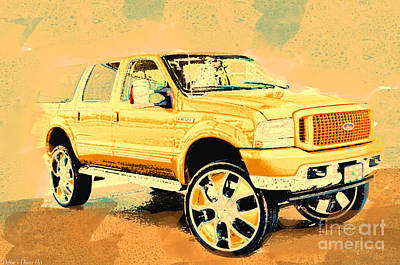 Photograph - Yellow Suv by Debbie Portwood