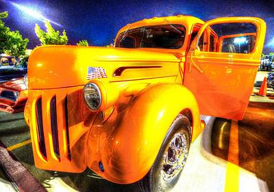 Photograph - Yellow Truck 2 by David Morefield