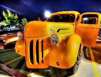 Photograph - Yellow Truck by David Morefield