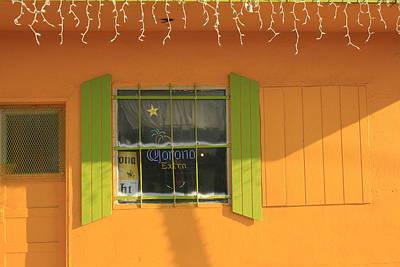 Yellow Window Art Print