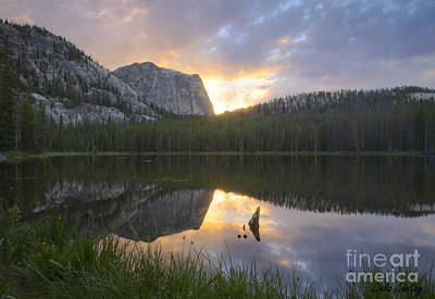Red Roses - Yellowjacket Lake by Idaho Scenic Images Linda Lantzy