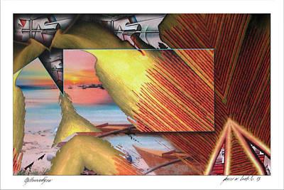 Digital Art - Yellowredfern 2003 by Glenn Bautista