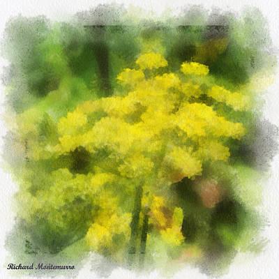 Yellows Original by Richard  Montemurro