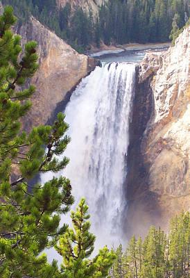 Yellowstone Grand Canyon Falls Original